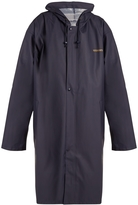 Vetements Oversized PVC-Coated Raincoat