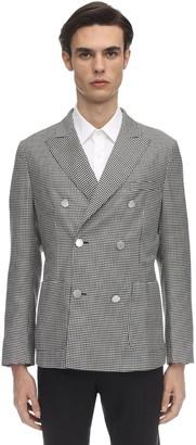 Tonello Double Breast Wool & Silk Blend Jacket