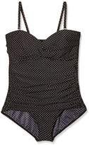 Miraclesuit Women's Polka Dot One Piece black