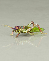 "Jay Strongwater Alejandro"" Grasshopper Figurine"