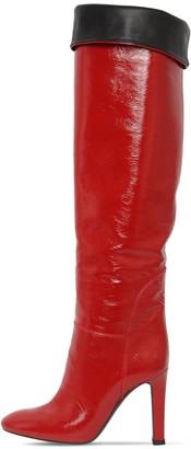 Giuseppe Zanotti 105mm Naplak Leather Boots