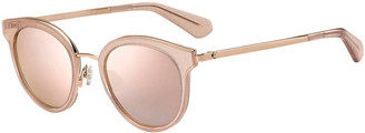 Kate Spade Lisannefs Round Mirrored Sunglasses