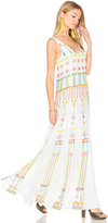 Rococo Sand Long Pleated Dress
