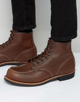 Red Wing Cooper Moc Toe Leather Boots