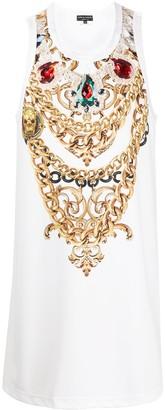 Comme des Garcons Jewel Print Vest Top