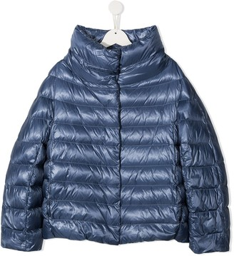 Herno TEEN shell puffer jacket