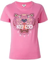 Kenzo 'Tiger' print T-shirt - women - Cotton - L