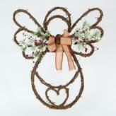 Gerson Artificial Pine & Berries Angel Wreath
