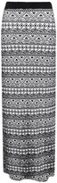 Birdcage Women's Long Jersey Maxi Stretch Gypsy Bodycon Skirt (US 18-20)