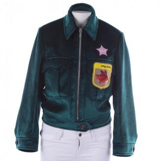 Miu Miu Green Jacket for Women