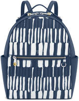 Henri Bendel West 57th Watercolor Print Backpack