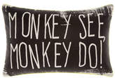 Hiccups Monkey See Monkey Cushion