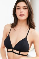 Urban Outfitters Tex Mix Triangle Caged Bra