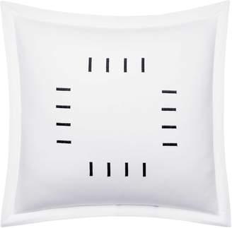 Vera Wang Embroidered Bar Cotton Accent Pillow