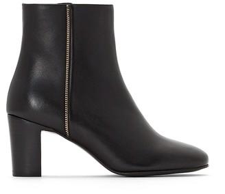 Jonak Deaclan Heeled Leather Ankle Boots