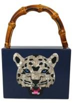 Milanblocks Leopard Vintage-Like Acrylic Clutch