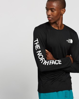 The North Face LS Reaxion Graphic Tee