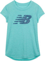 New Balance Short-Sleeve Graphic Tee - Girls 7-16