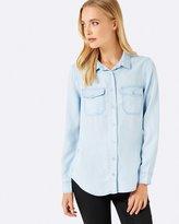Forever New Sofi Double Pocket Shirt