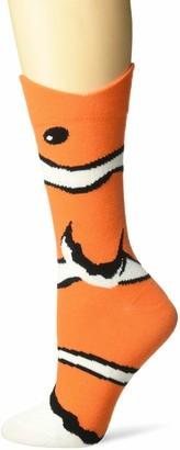 K. Bell Socks K. Bell Women's Wide Mouth Animal Novelty Crew Sock