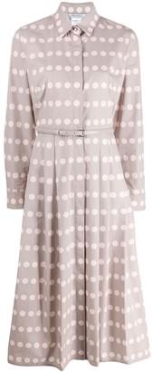 Max Mara Polka-Dot Shirt Dress