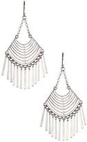 Lucky Brand Open Work Chandelier Earrings