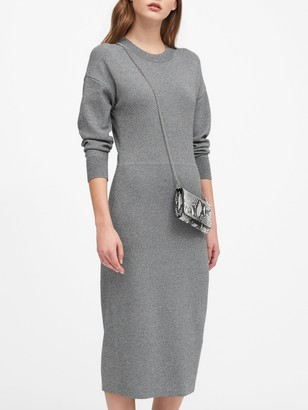 Banana Republic Dolman-Sleeve Sweater Dress