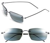 Maui Jim Men's 'Sandhill - Polarizedplus2' 57Mm Polarized Sunglasses - Dark Gunmetal/ Maui Ht