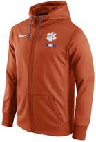 Nike Men's Clemson Tigers Therma Full-Zip Hoodie