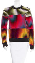 Jonathan Saunders Merino Wool Striped Sweater