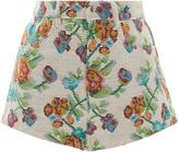 Anna Sui Jacquard Floral Short