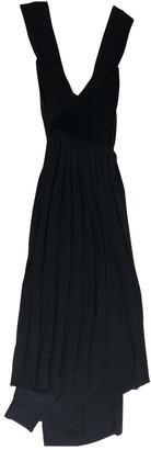 Edun Black Wool Dresses
