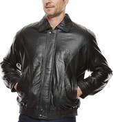 Asstd National Brand Pig Leather Bomber Jacket