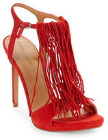KENDALL + KYLIE Aries Fringed Suede Sandals
