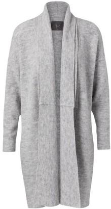 Ya-Ya Long Grey Cardigan - X Small
