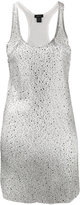 Avant Toi long star embellished vest - women - Viscose/Crystal - XS