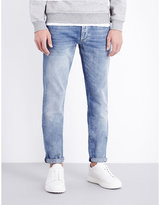 Brunello Cucinelli Faded Slim-fit Mid-rise Jeans