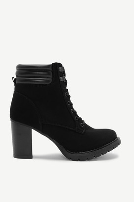 Ardene Faux Suede Ankle Booties