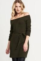 Dynamite Belted Sweater Dress