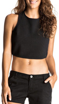 Roxy Crossover Crop Top