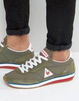 Le Coq Sportif Azstyle Sneakers In Green 1710169