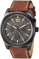 Timberland Men's TBL14642JSB02 BRANT Analog Display Analog Quartz Brown Watch