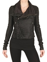 Rick Owens Blistered Biker Nappa Leather Jacket