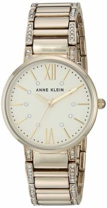Anne Klein Dress Watch (Model: AK/3201SVSV)
