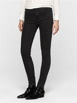 Calvin Klein Black Stretch High Rise Skinny Jeans