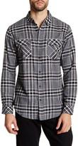 Burnside Long Sleeve Plaid Shirt