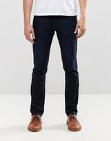Nudie Jeans GrimTim Slim Jeans Navy Thunder Dark Wash