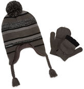 Weatherproof Beanie & Glove Set - Boys 4-20