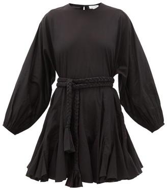Rhode Resort Ella Cotton Mini Dress - Womens - Black