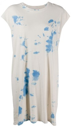 Raquel Allegra dyed-effect T-shirt dress